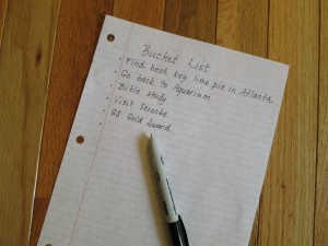Why Every Mom Needs a Bucket List - Parenting Like Hannah